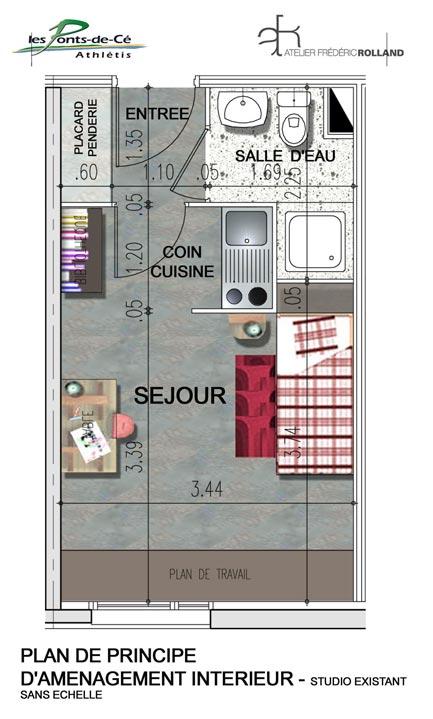 athl tis r sidence universitaire pont de c maine et loire 49. Black Bedroom Furniture Sets. Home Design Ideas
